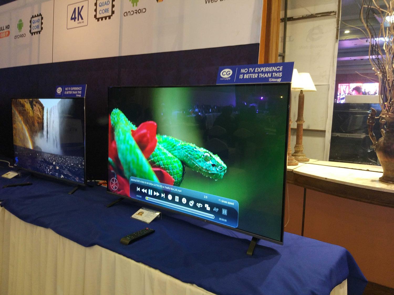 CG 65-inch 4k tv