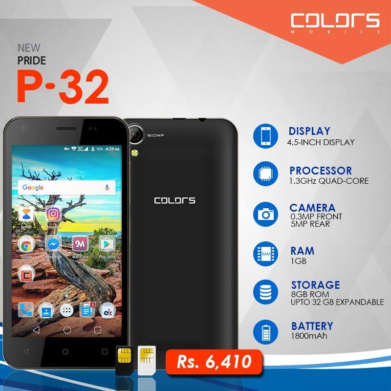 Colors Pride P32