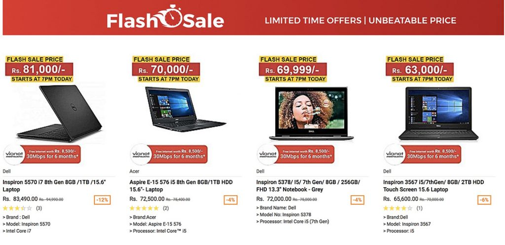 Daraz Flash Sale
