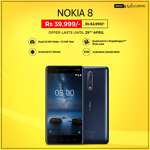Daraz Exclusive Nokia 8