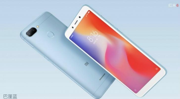 Xiaomi Redmi 6 and Redmi 6A