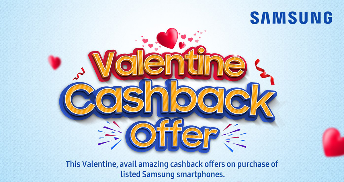 Samsung Valentine Offer