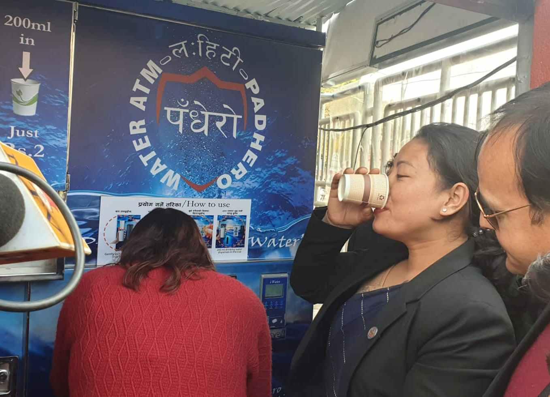 Water ATM in Nepal