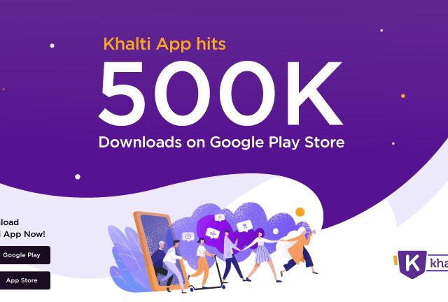 Khalti reaches 500,000 downloads