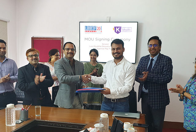Khalti and LBEF Forms partnership