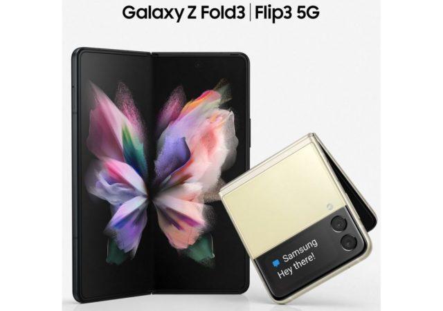 Samsung Galaxy Z Fold and Flip 3 renders leak